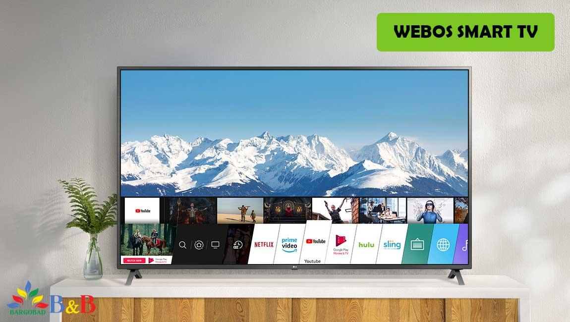 سیستم عامل تلویزیون ال جی UP7500