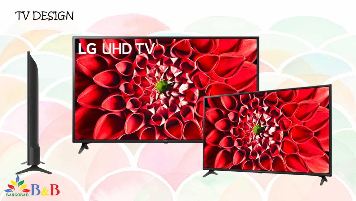 طراحی تلویزیون ال جی UN7100