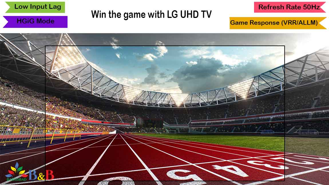 بازی در تلویزیون UN711