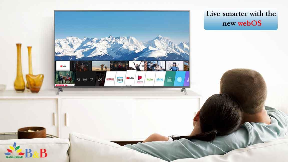 هوشمند تلویزیون 55 اینچ ال جی UN711