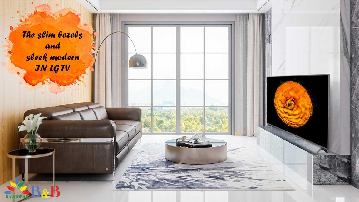 طراحی تلویزیون ال جی UN7180