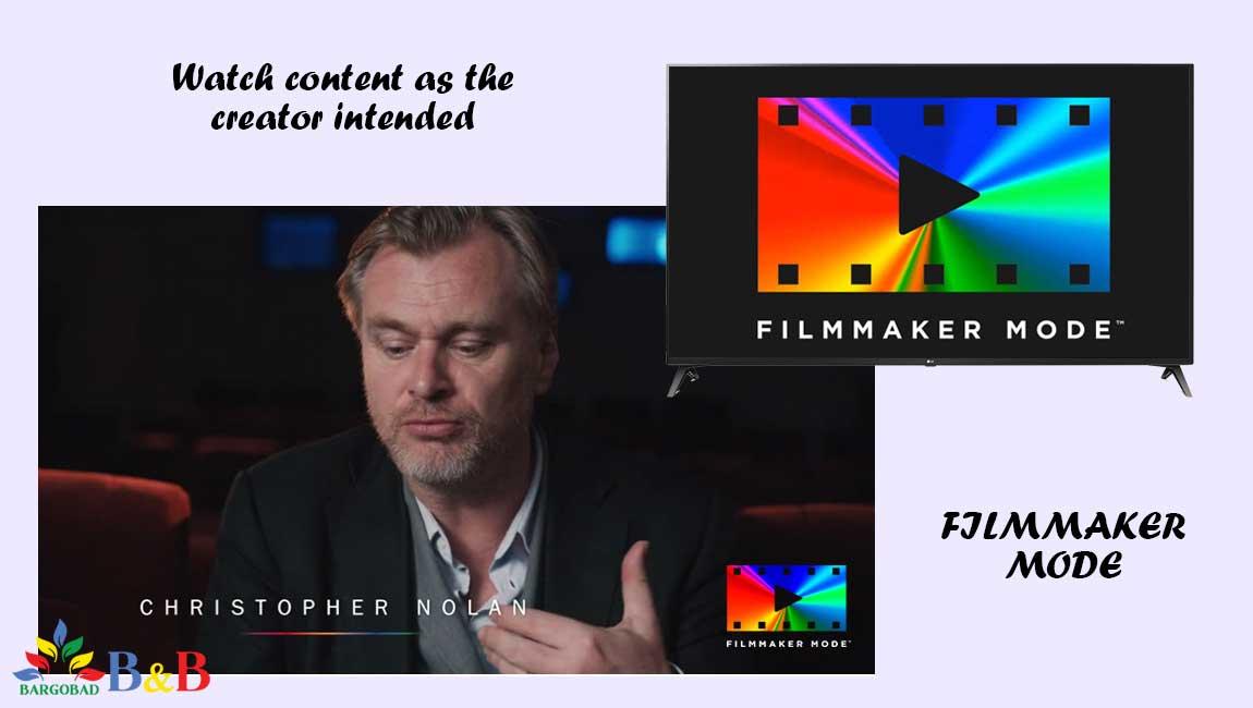 حالت فیلم ساز در تلویزیون ال جی UN7180