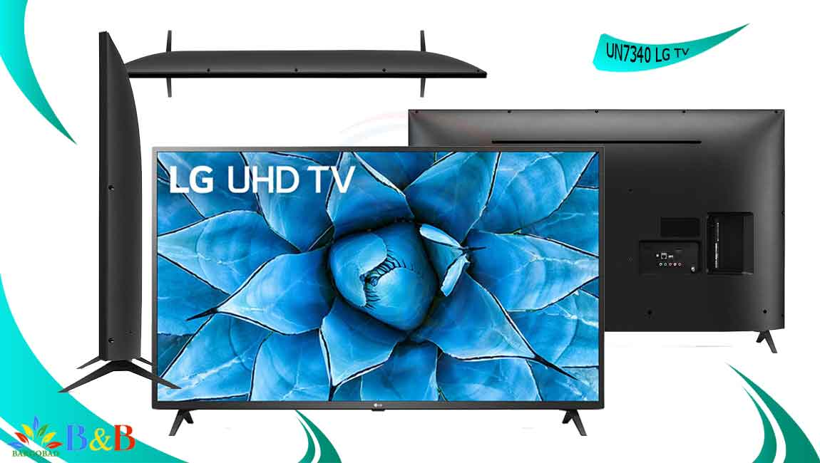 طراحی تلویزیون ال جی UN7340