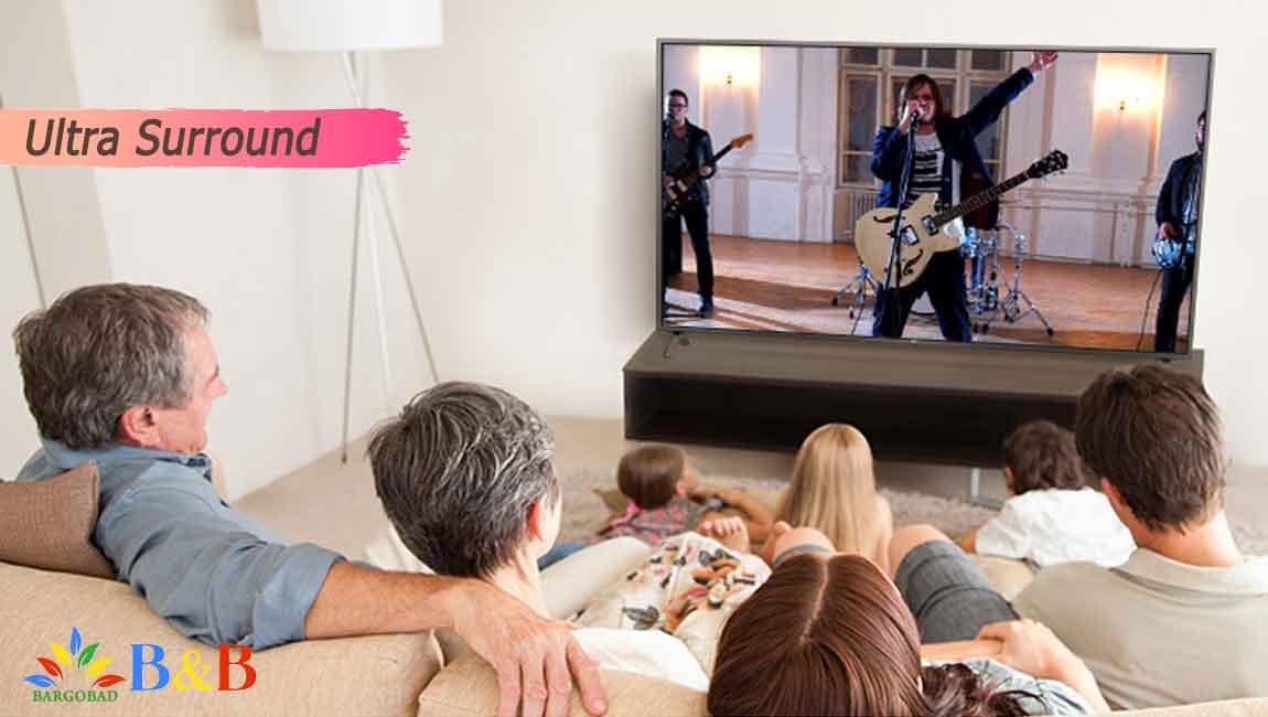 صدای بی نظیر تلویزیون 70 اینچ ال جی UN7380
