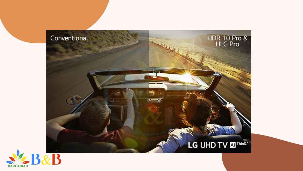 قابلیت HDR در تلویزیون ال جی UN7440