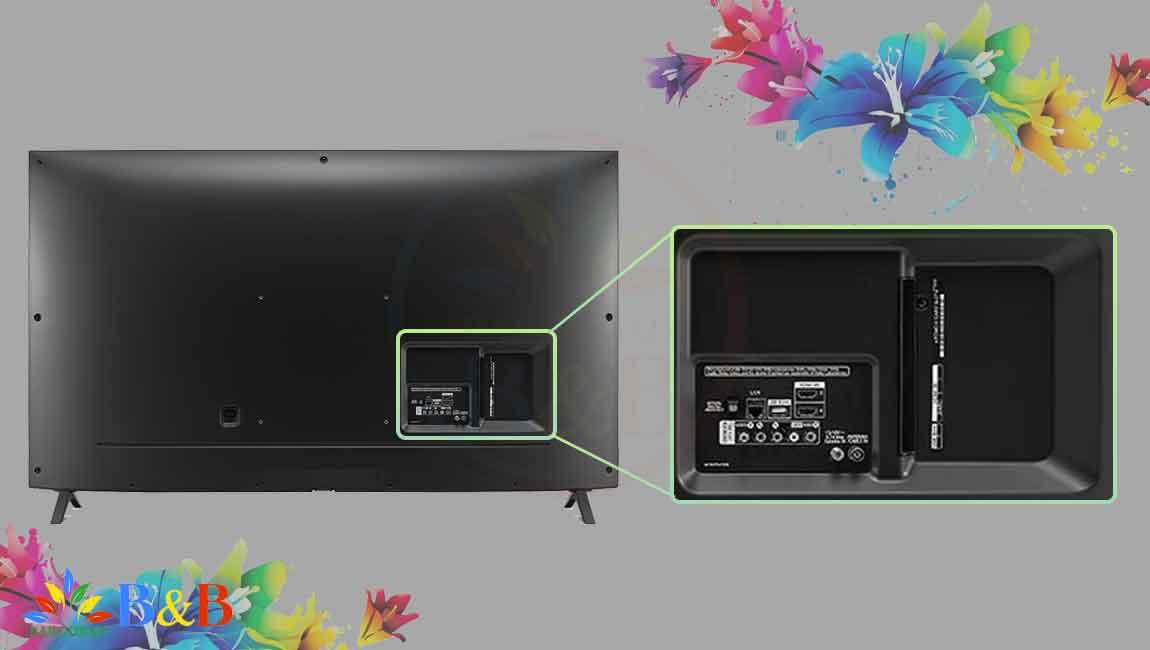 درگاه های ارتباطی تلویزیون 55 اینچ ال جی UN8060