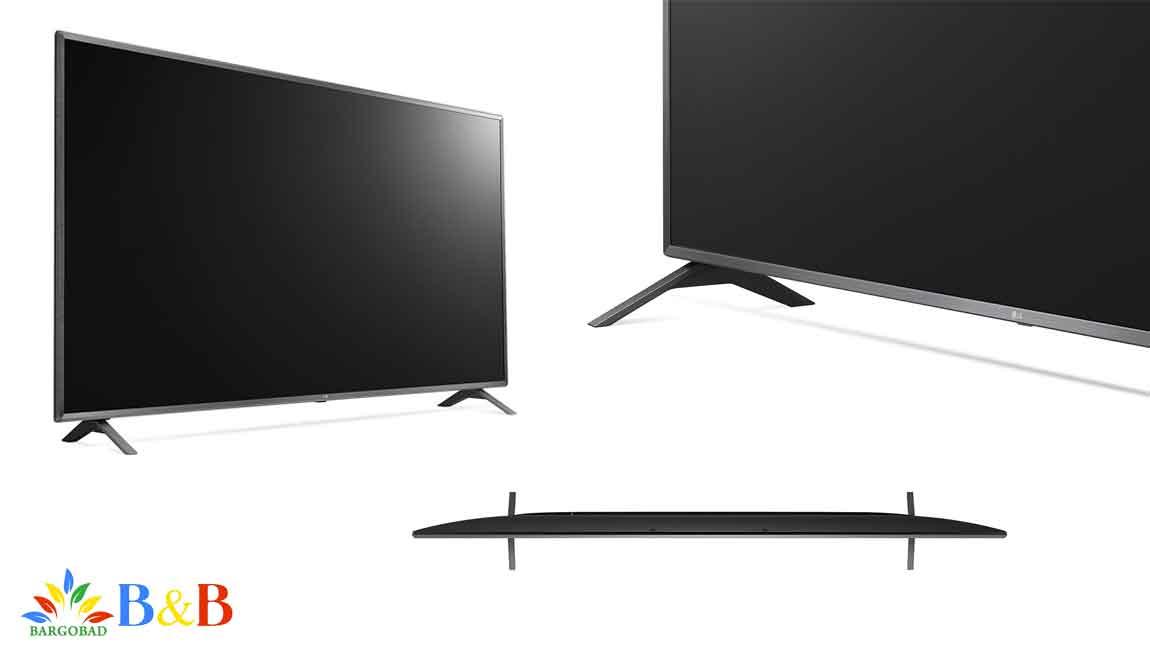 طراحی تلویزیون 86 اینچ ال جی UN8080