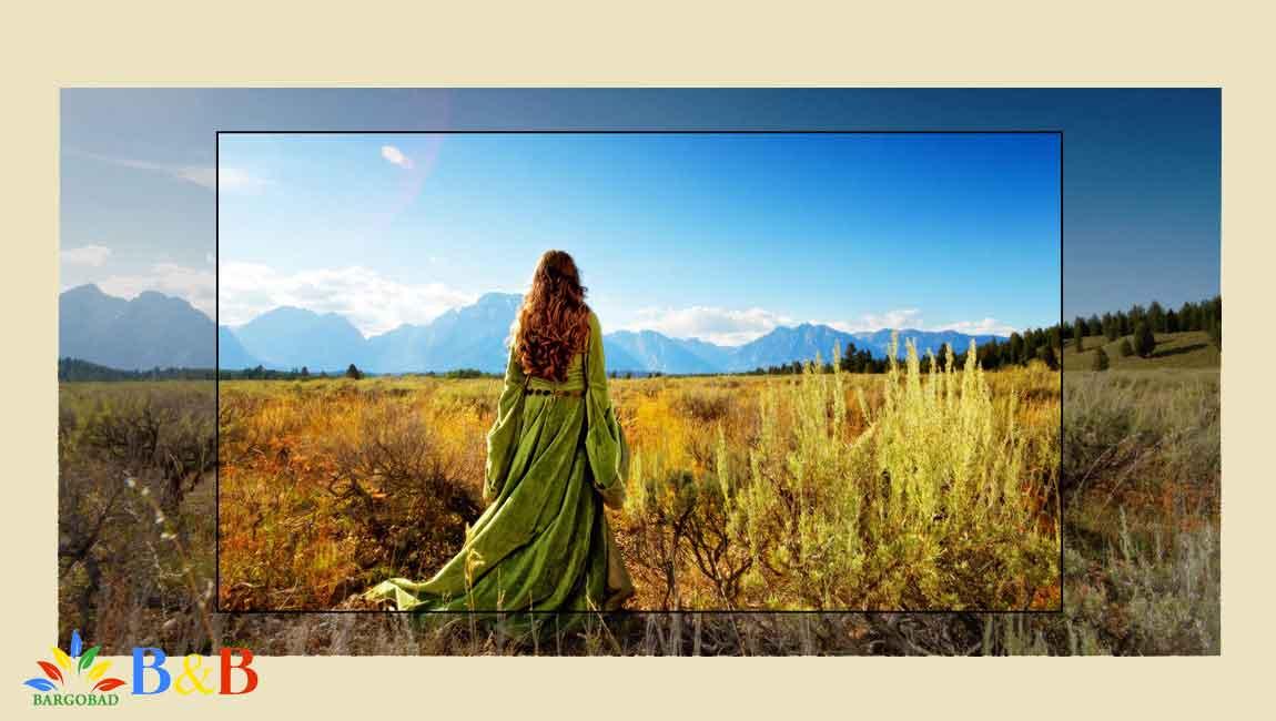 تصاویر شفاف تلویزیون 86 اینچ ال جی UN8080