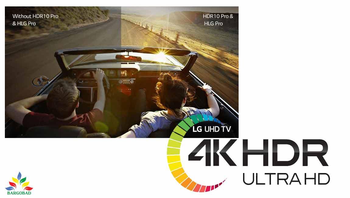 صفحه نمایش تلویزیون ال جی UP7500