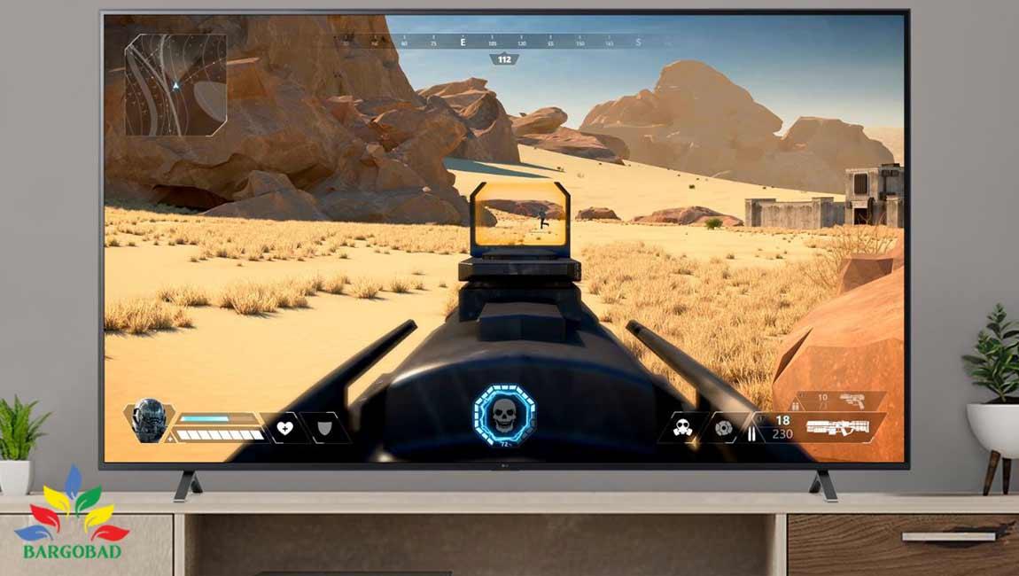 قابلیت Game Optimizer در تلویزیون ال جی UP8070