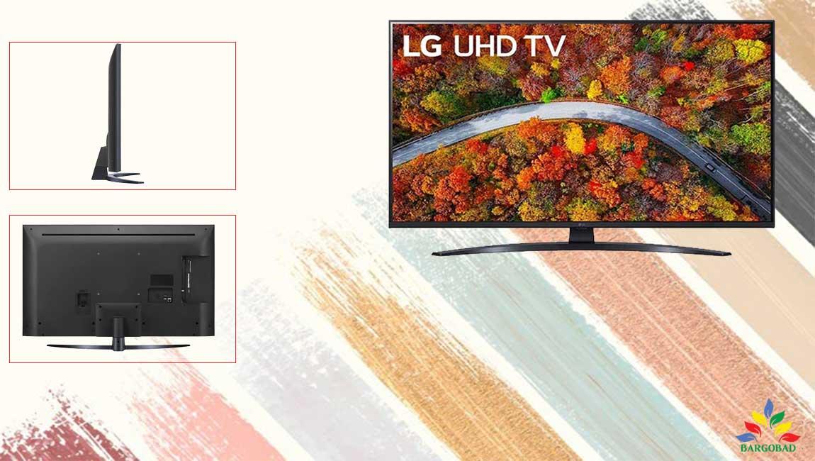طراحی تلویزیون ال جی UP8100