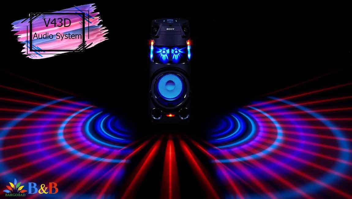 معرفی سیستم صوتی سونی V43