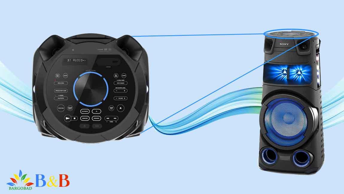 طراحی سیستم صوتی سونی V73