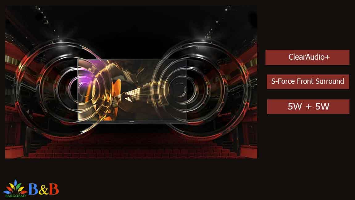 سیستم صوتی تلویزیون W660F