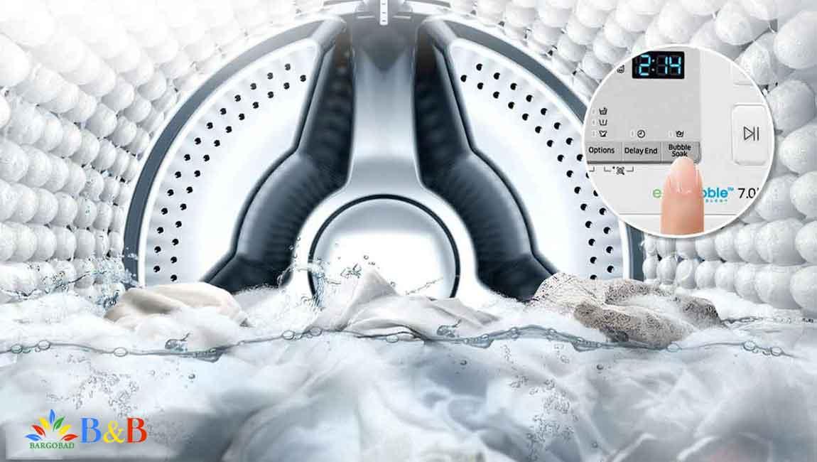 حذف لکه ها با فناوری پیشرفته ماشین لباسشویی j4260