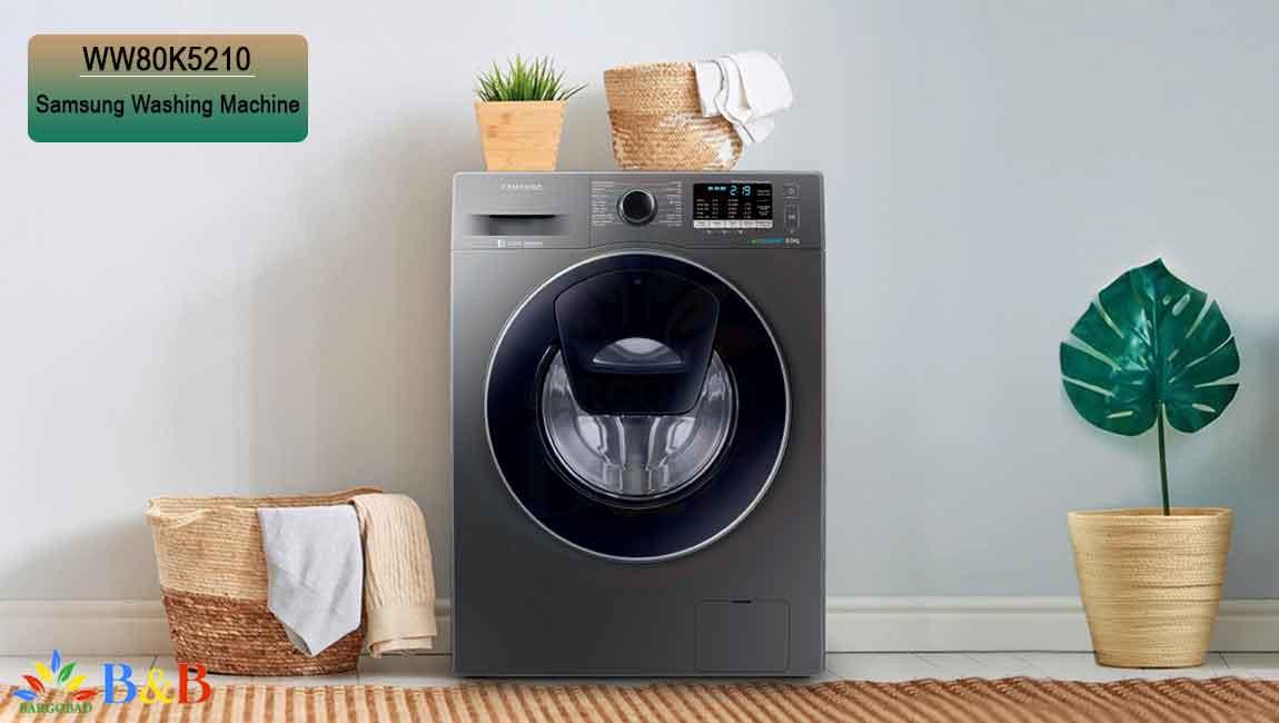 برنامه های شستشو لباسشویی WW80K5210