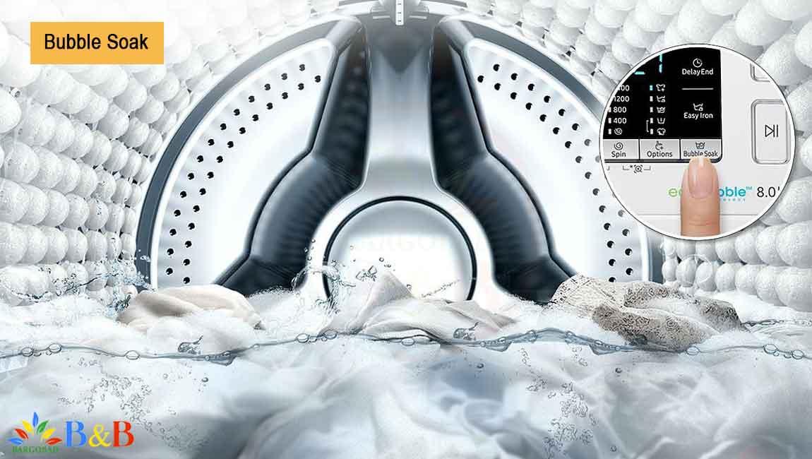 Bubble Soak لباسشویی WW80K5210