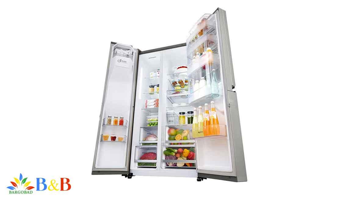 طراحی داخلی یخچال X247