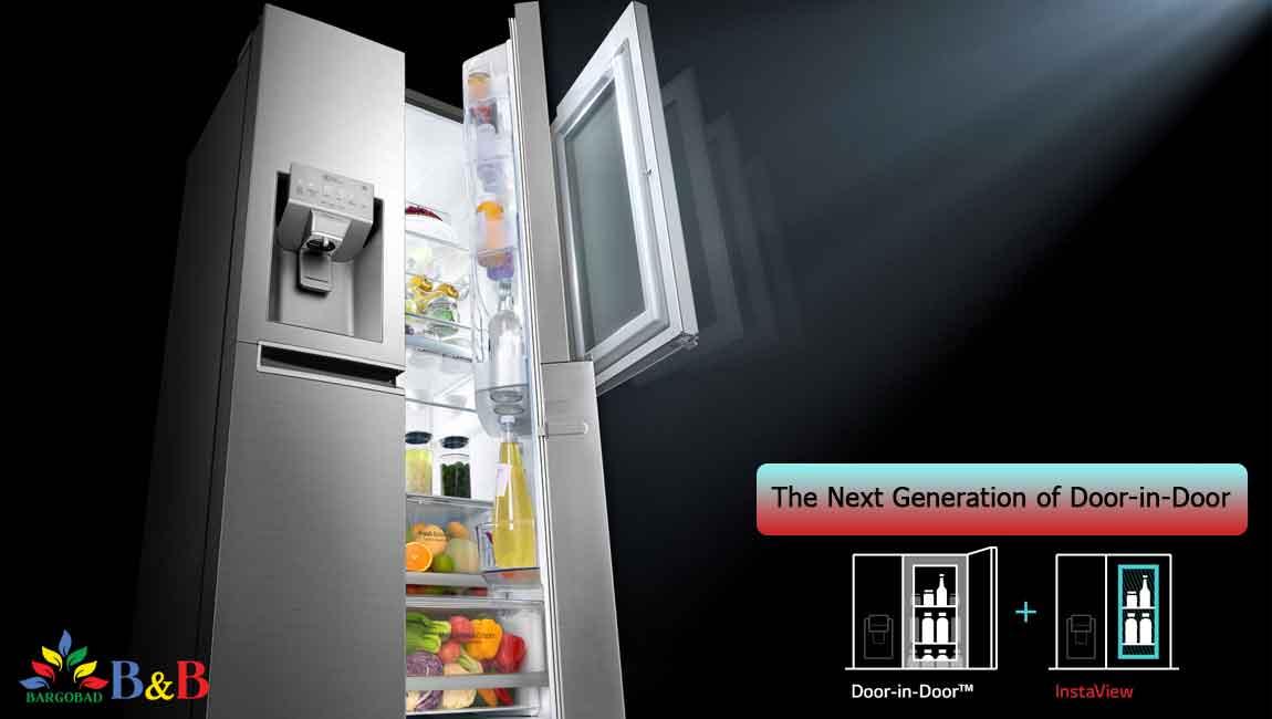 طراحی اینستاویو با یخچال X259