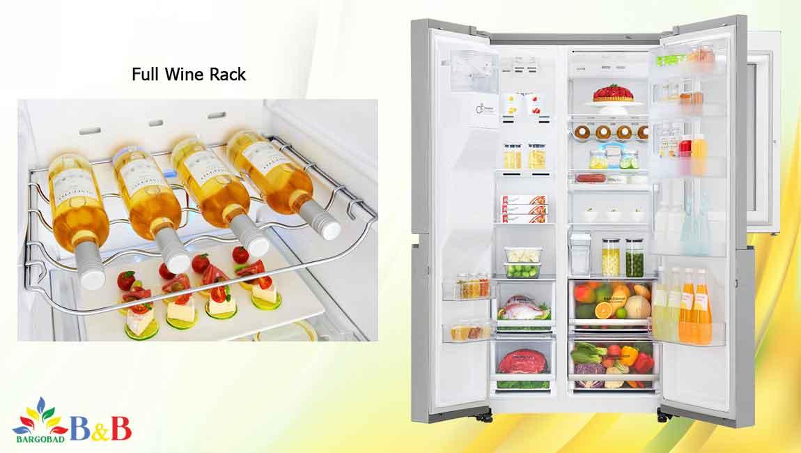 طراحی داخلی یخچال X259