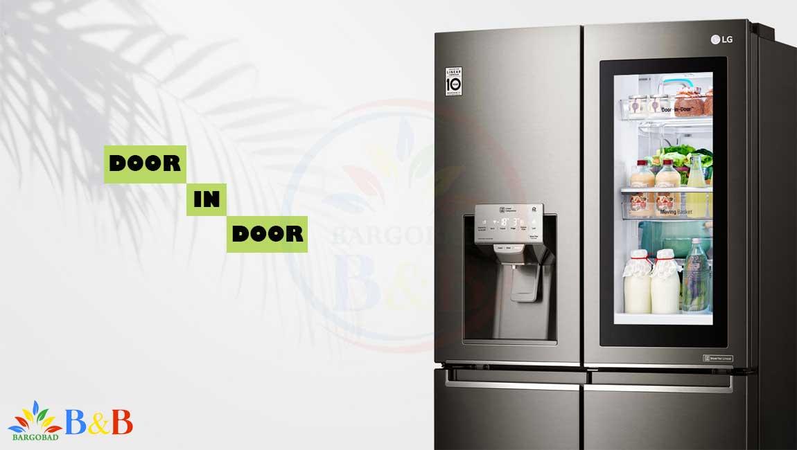 طراحی DOOR IN DOOR با یخچال X274