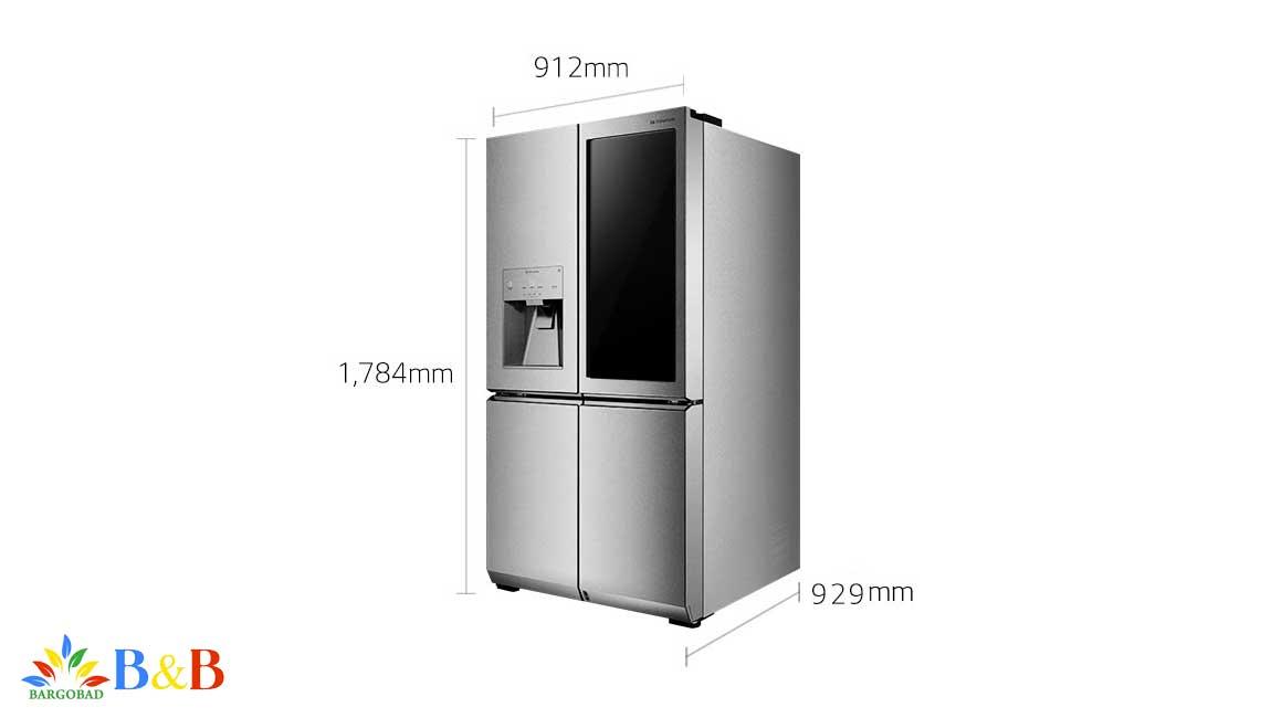 طراحی یخچال اینستاویو X33