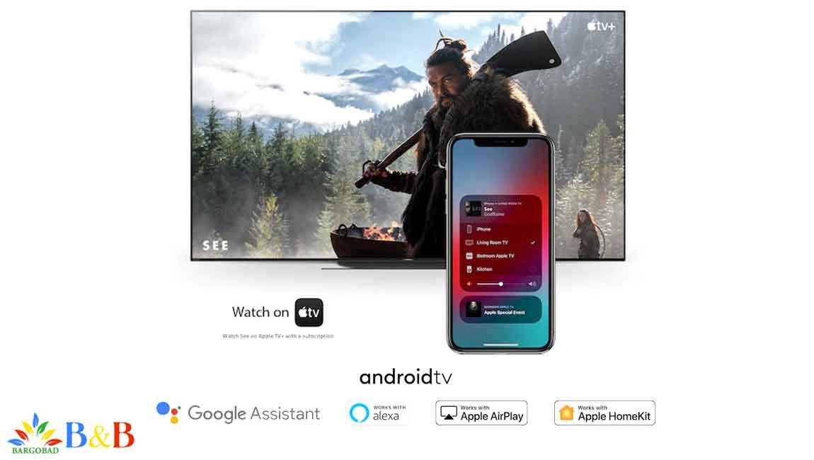 امکانات هوشمند تلویزیون X8000H