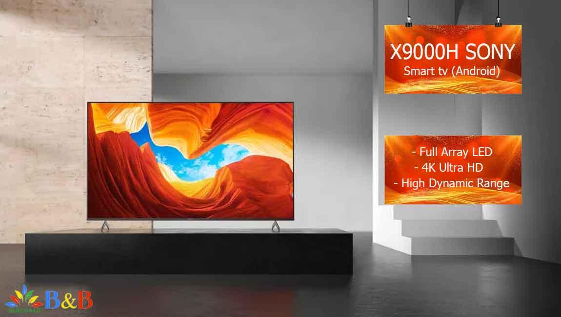 معرفی تلویزیون سونی x9000h