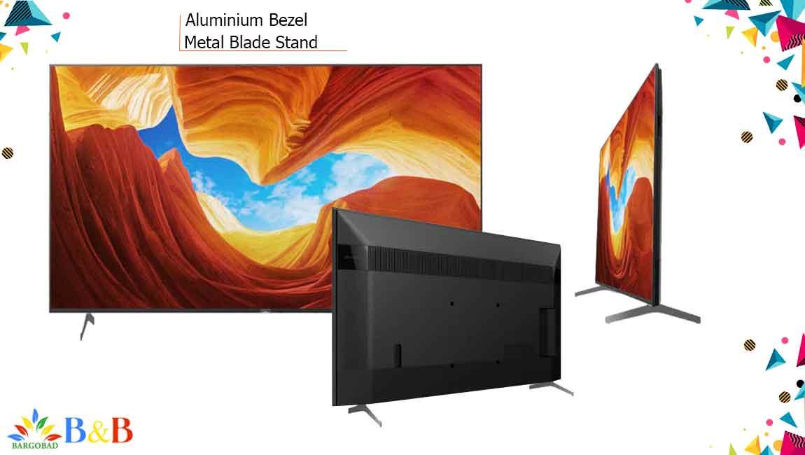 طراحی تلویزیون 55 اینچ سونی X9000H