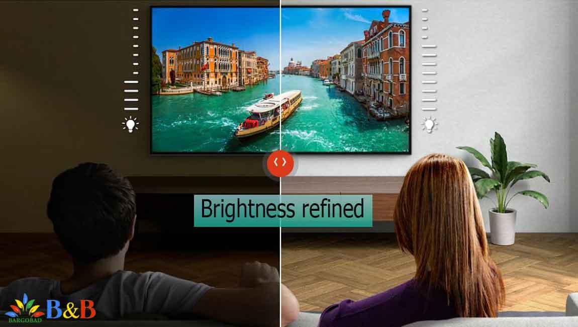 تلویزیون X9500H با نور Brightness