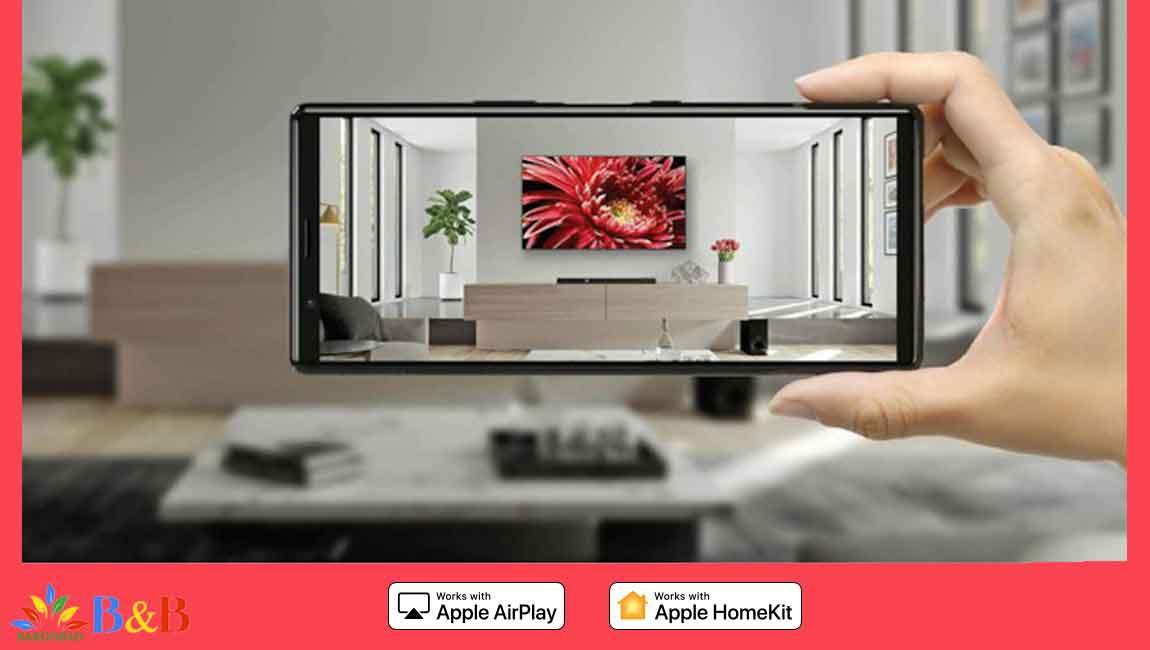 اتصال به گوشی در تلویزیون 55X9500H