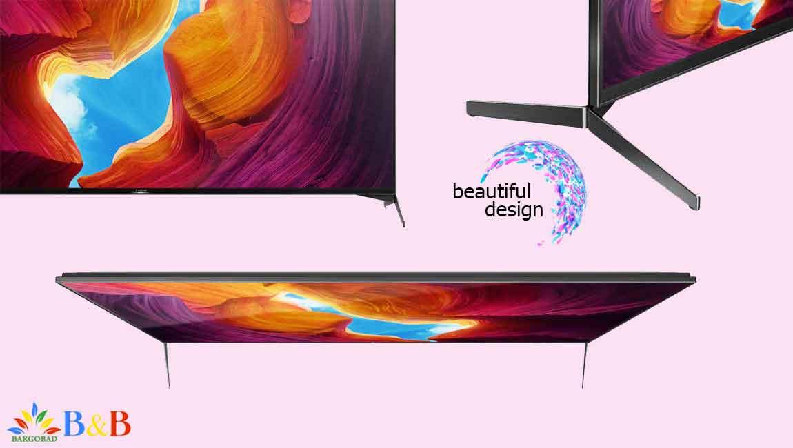 طراحی تلویزیون سونی X9500H