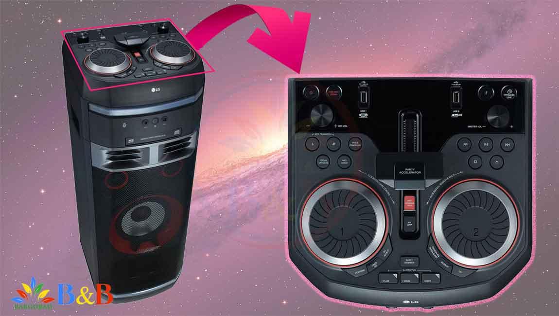 طراحی و ساختار سیستم صوتی ال جی OK75