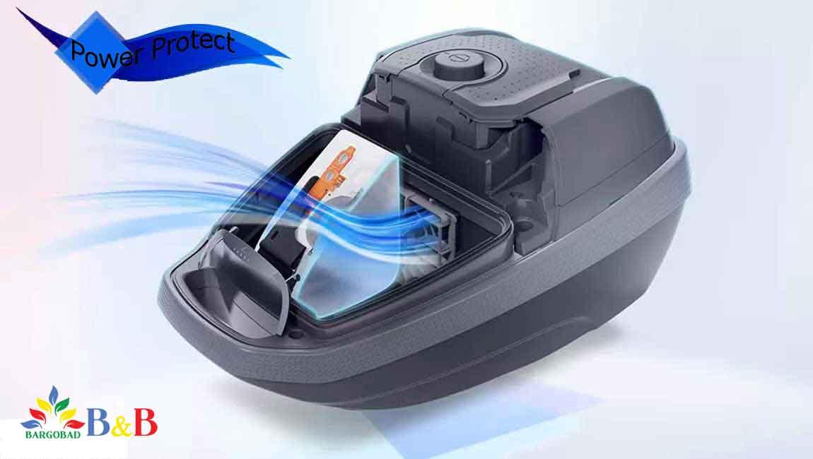 فناوری Power Protect جاروبرقی 8pro5