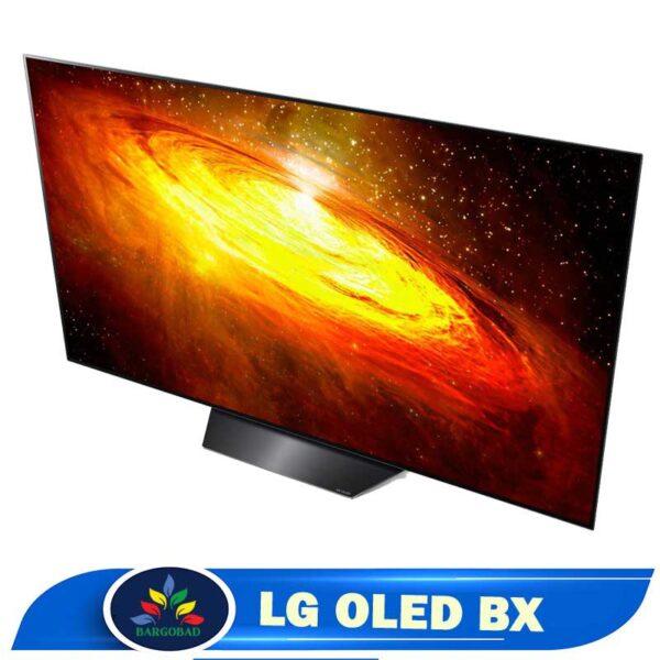 حاشیه تلویزیون 55 اینچ ال جی BX