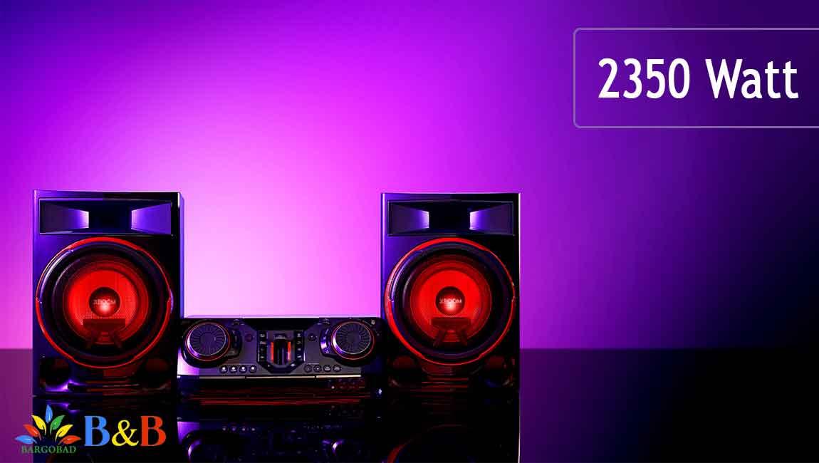 قدرت سیستم صوتی CL87