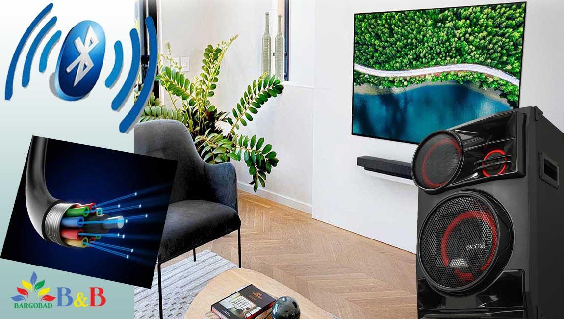 همگام سازی تلویزیون با سیستم صوتی ایکس بوم ال جی CL98