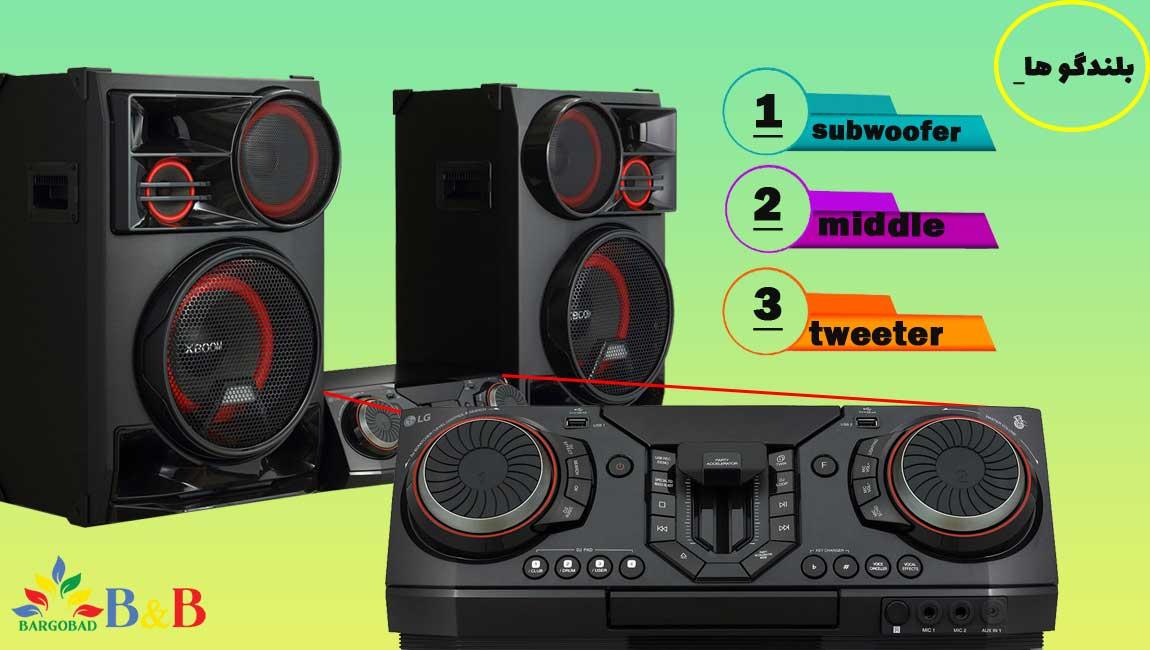 طراحی سیستم صوتی CL98