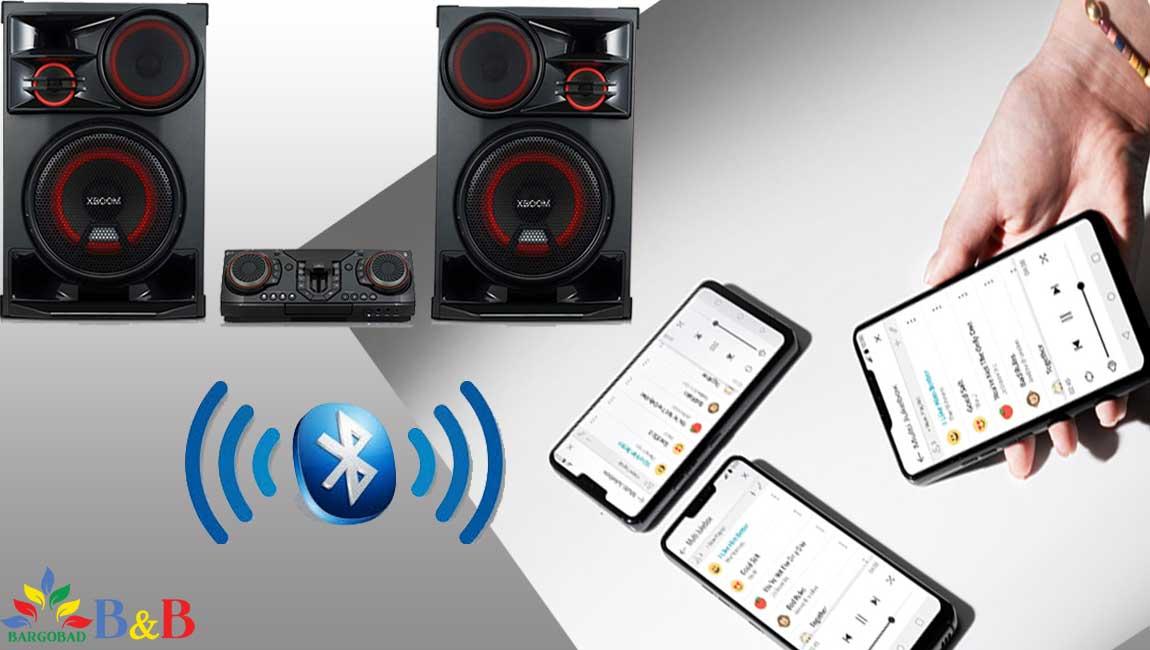 ادغام صوت در سیستم صوتی CL98