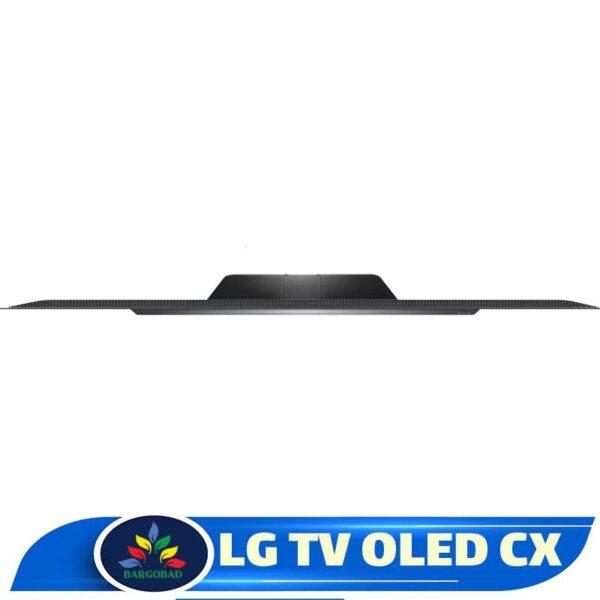 کنار تلویزیون 77 اینچ ال جی CX