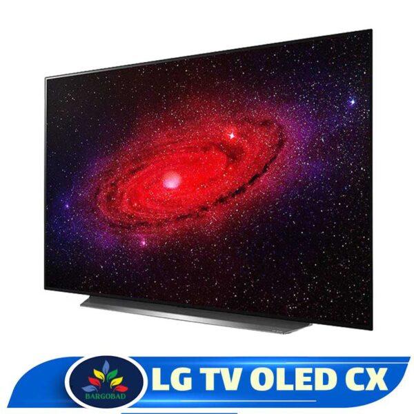 زاویه تلویزیون 77 اینچ ال جی CX