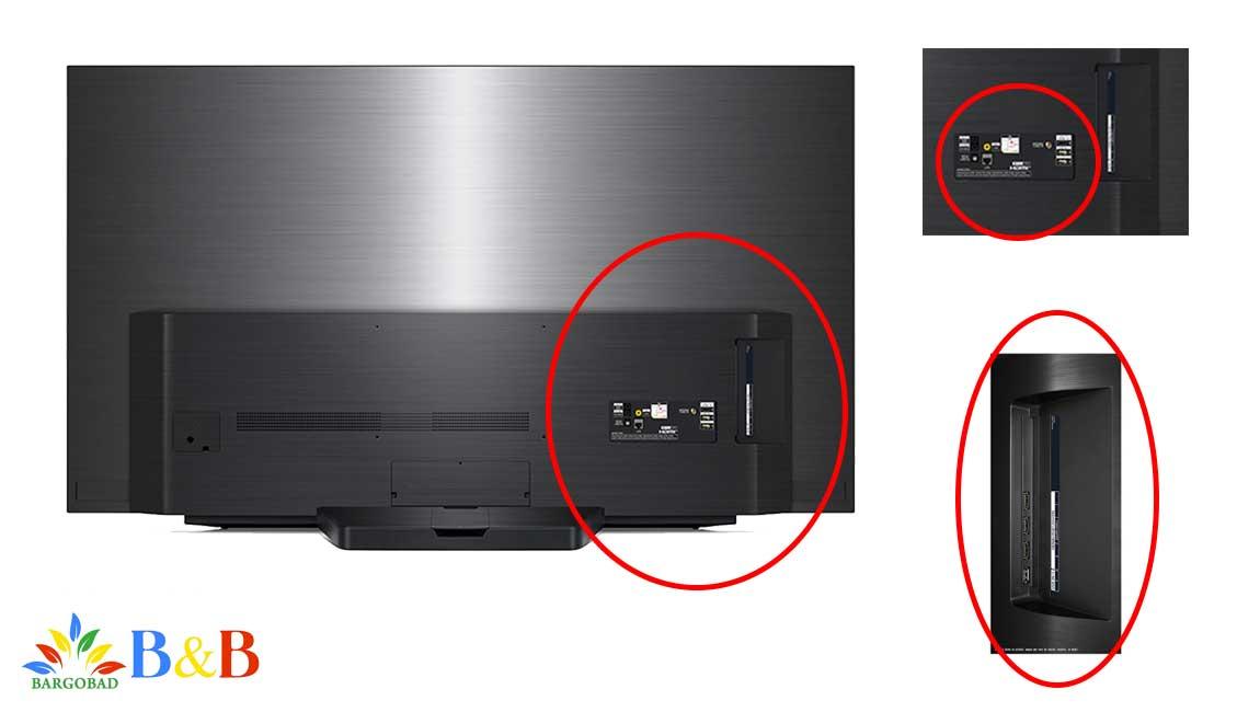 طراحی تلویزیون 65 اینج CX