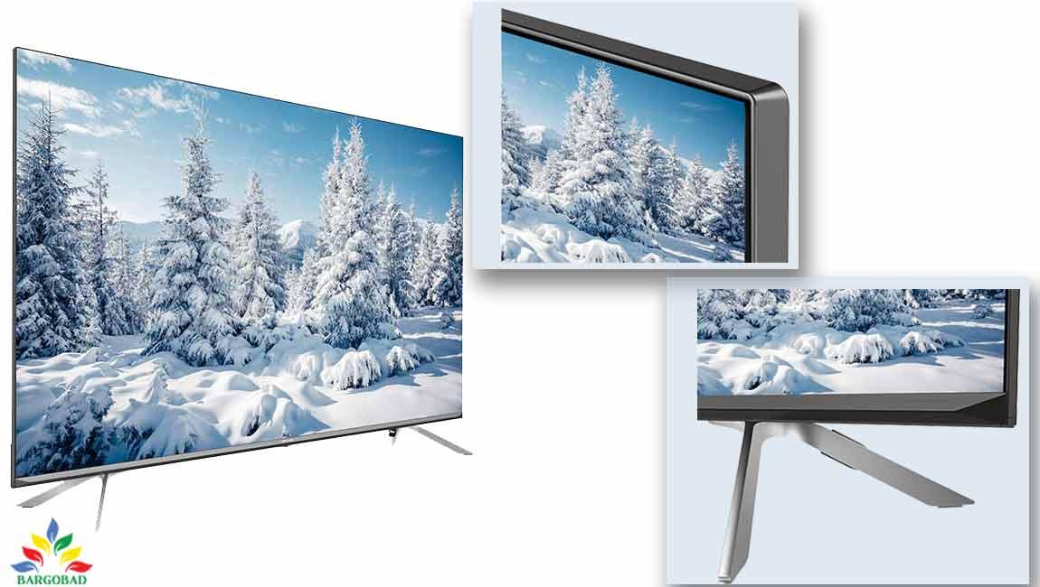 طراحی تلویزیون هایسنس U7WF