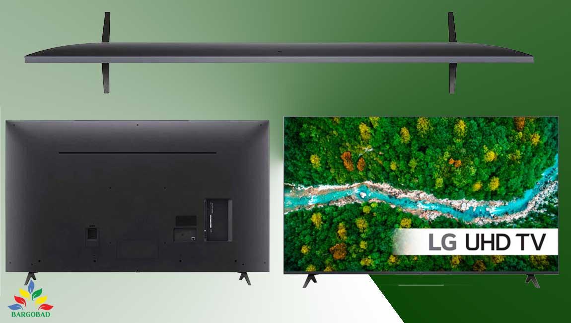طراحی تلویزیون ال جی UP7700