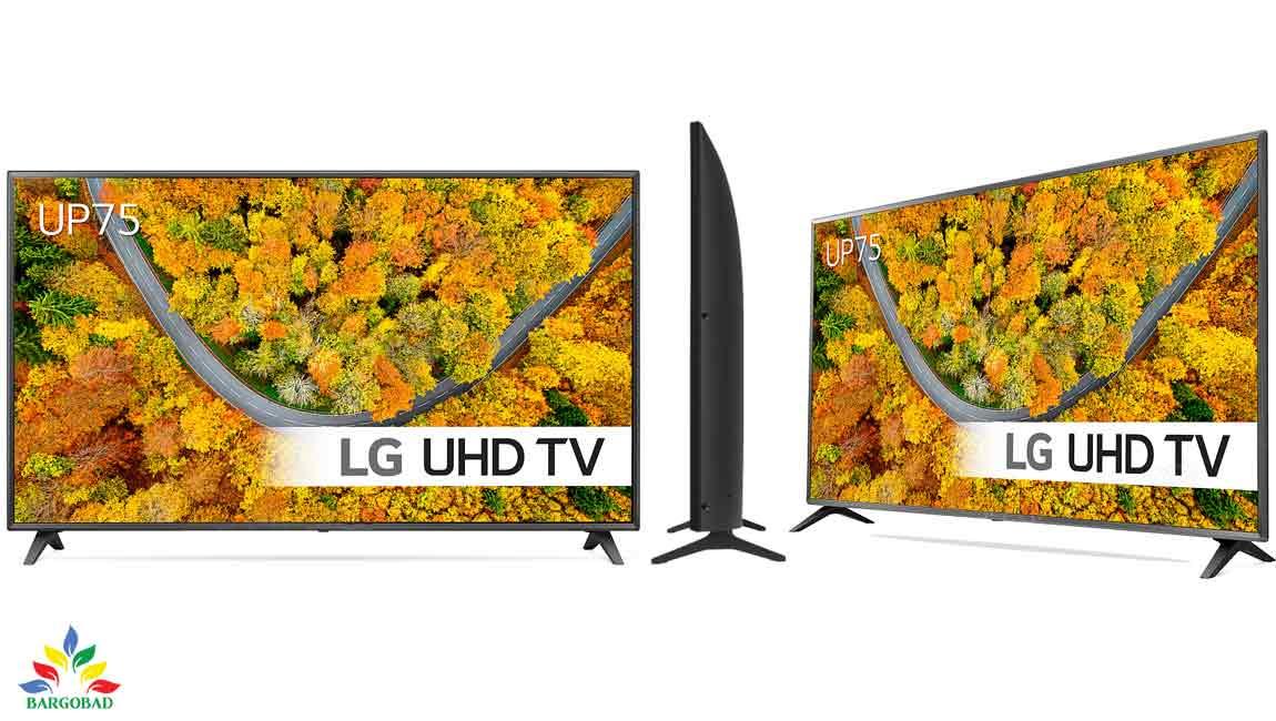 طراحی تلویزیون ال جی UP7500