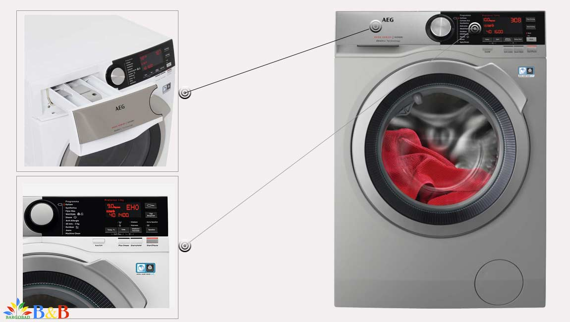 ماشین لباسشویی آآگ 10 کیلو