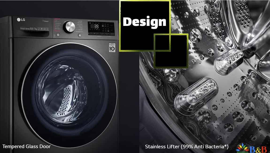 طراحی ماشین لباسشویی v9
