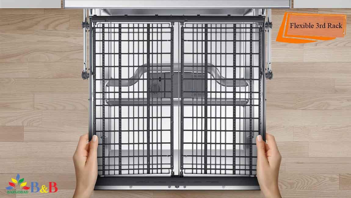 قفسه های انعظاف پذیر ظرفشویی سامسونگ 5070