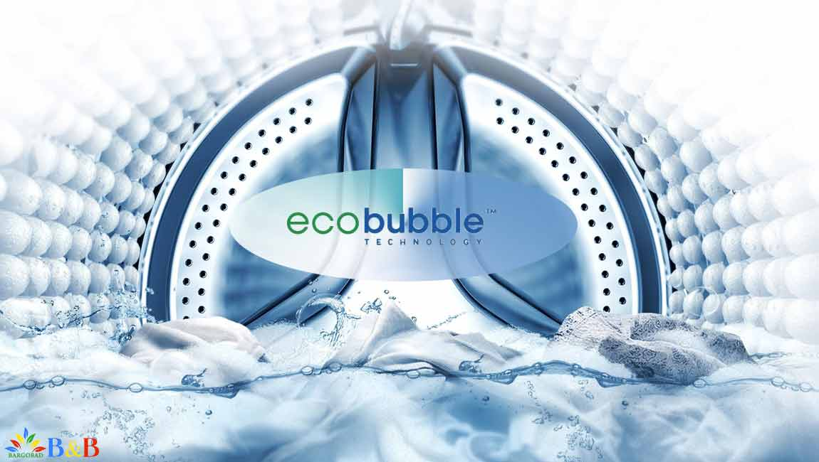 فناوری حباب ساز در ماشین لباسشویی سامسونگ ww70k