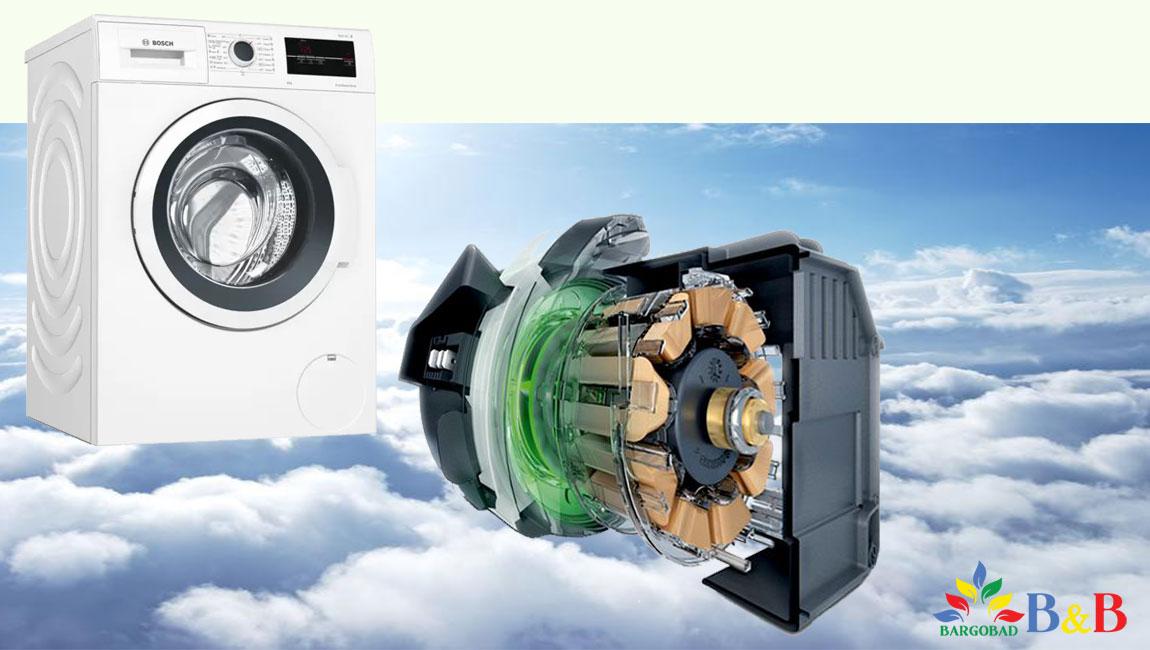 قدرت موتورماشین لباسشویی 8 کیلو بوش WAJ20180ME